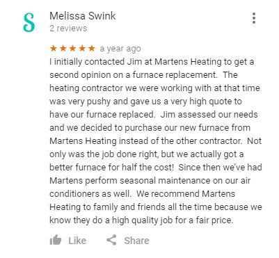 testimonial from satisfied customer